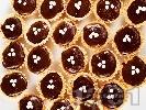Рецепта Сладки кошнички с домашен шоколадов какаов маслен крем